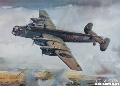 Handley Page Halifax by Gleed.
