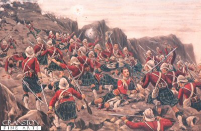 Charge of the Gordon Highlanders by Stanley Berkeley.