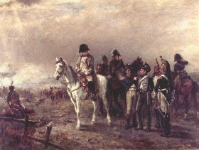 The Decisive Moment at Waterloo by Robert Hillingford.