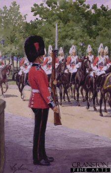 On Sentry by William Barnes Wollen.