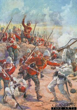 Storming the Trenches, Battle of Tel-el-Kebir by Harry Payne.