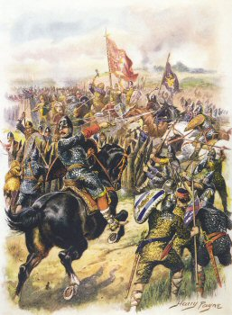 Harolds Last Stand, Battle of Hastings by Harry Payne.