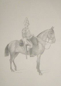 VAR636P. 6th Inniskilling Dragoon by Chris Collingwood.