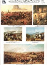 VOL1. Cranston Fine Arts Military Art Catalogue (Volume 1) <p> Volume One book catalogue shows over 185 military, naval and aviation art prints, with a majority of these prints being of Napoleonic, Crimean and British Colonial Wars by 19th Century military and naval artists. <br>please note image of catalogue has been slightly cropped.  <b><p>Full colour book catalogue.<p>Size approx 12in x 9in
