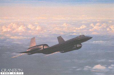 Lockheed SR-71A 64-17973 of 9th SRW, USAF by Keith Woodcock.