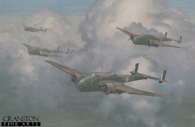 Handley Page Hampden by Keith Woodcock.