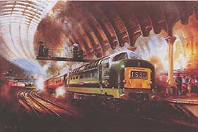 Deltic by David Weston.
