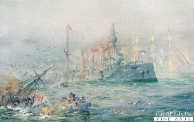 Nurnberg Sinking by W L Wyllie.