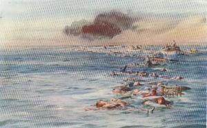 The Track of the Lusitania by W L Wyllie.