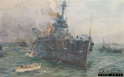 Saving the Crew of Audacious by W L Wyllie.