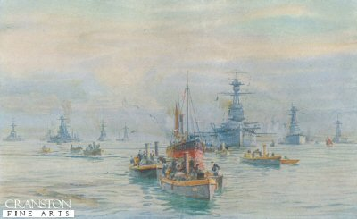Picket Boats, Trawlers and Battleships in Scapa Flow by W L Wyllie.